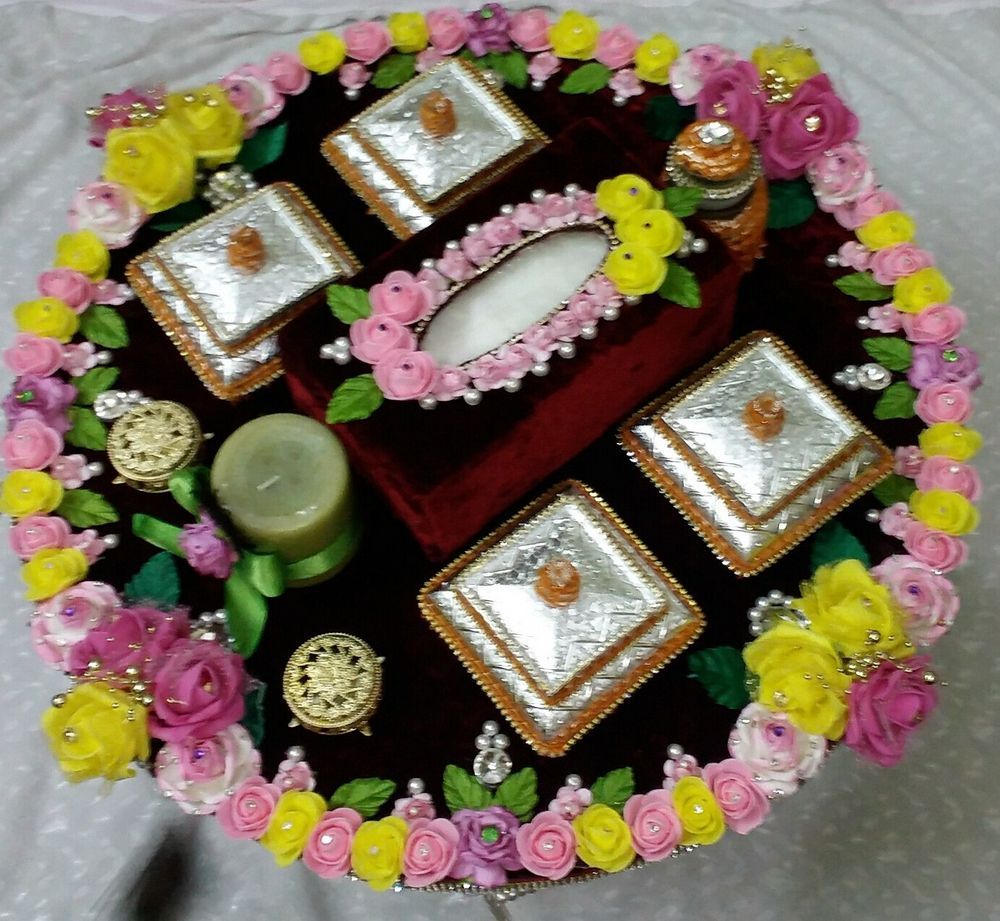 Photo From mehendi thaal - By Barkaat Atelier