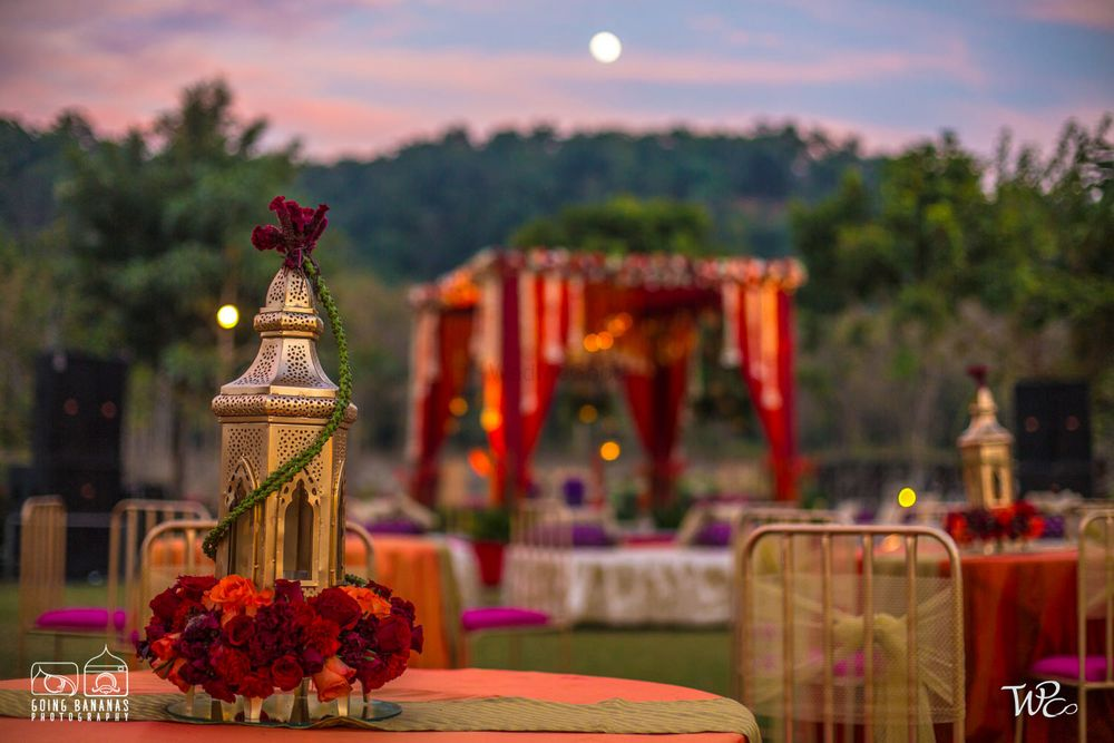 Photo From Stunning Red Mandap in the Jungle  - By The Wedding Planning Company