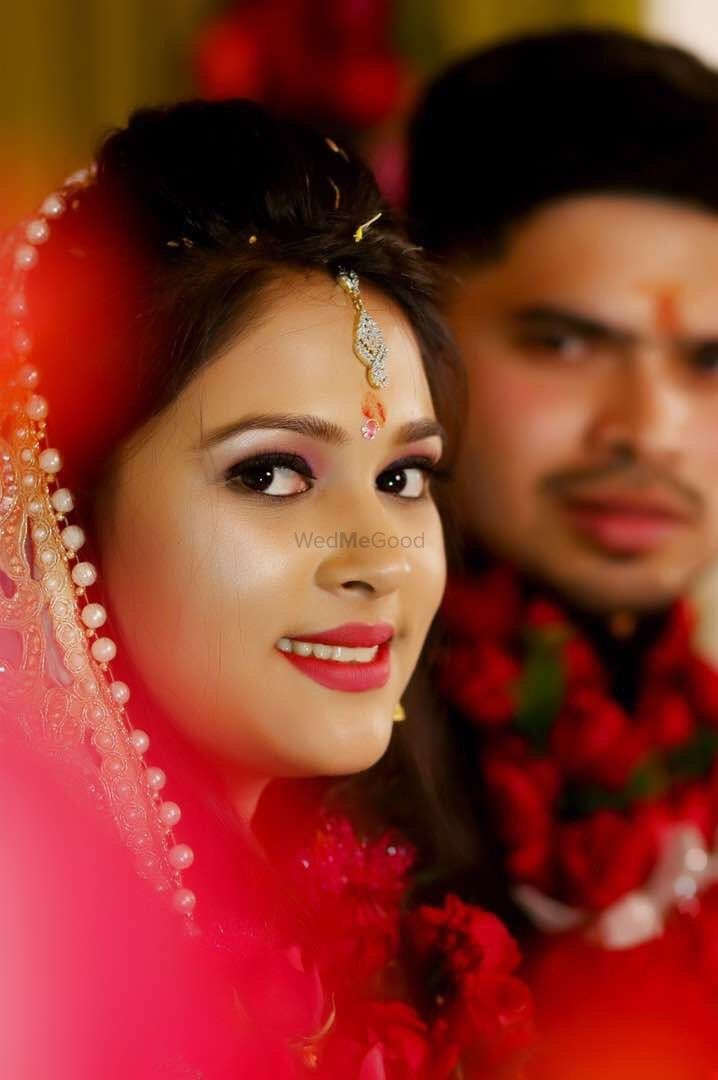 Photo From Puja Gupta Engagement bride - By Monika Dey Makeup and Hair