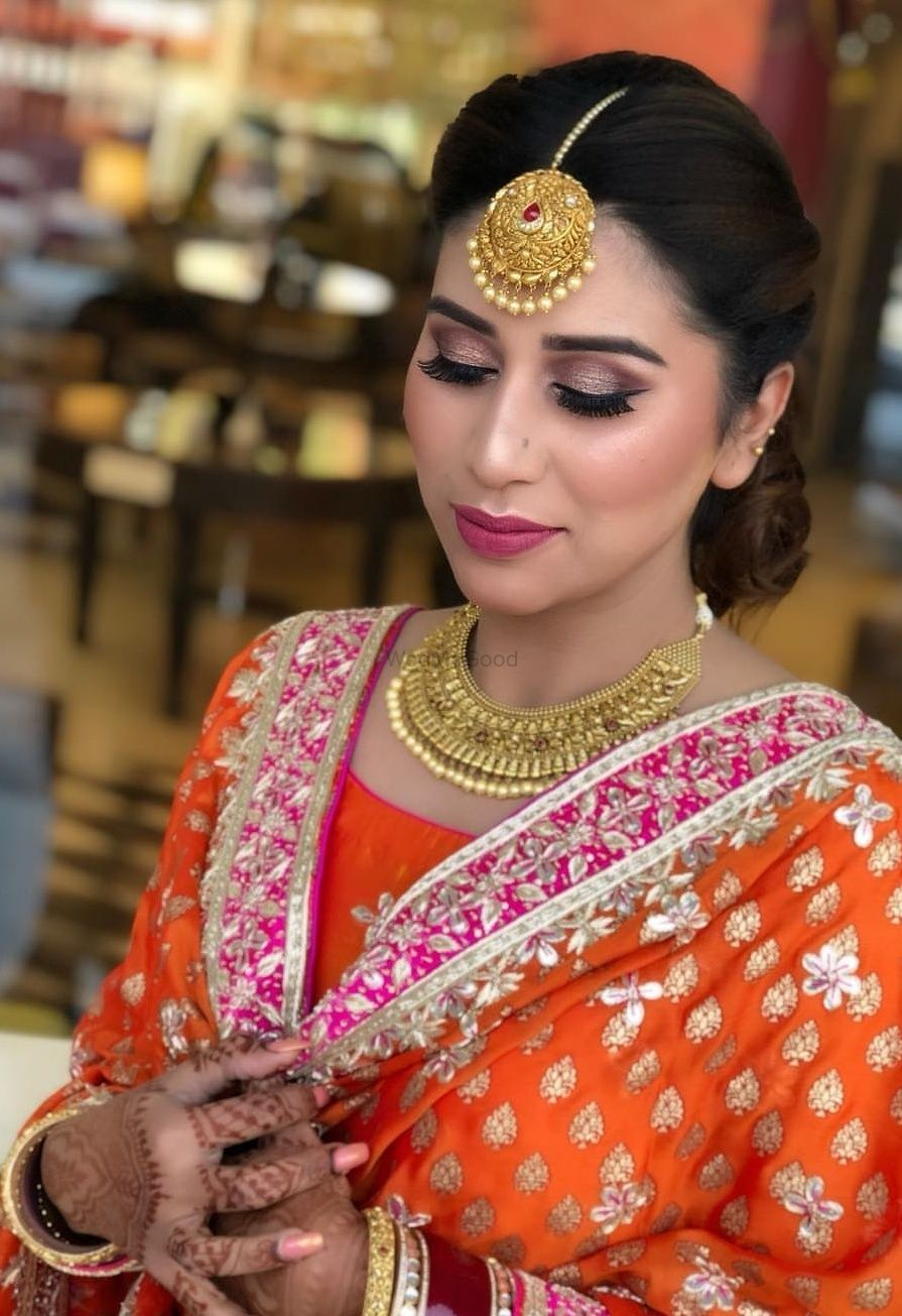 Photo From Sukhpreet ( Sagan ) - By Makeup Artistry by Pooja Ohri