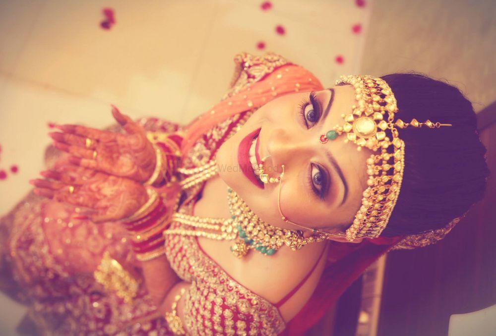 Photo From Beautiful Bride Priya ❤️ - By Let's Makeup by Aarti Makker