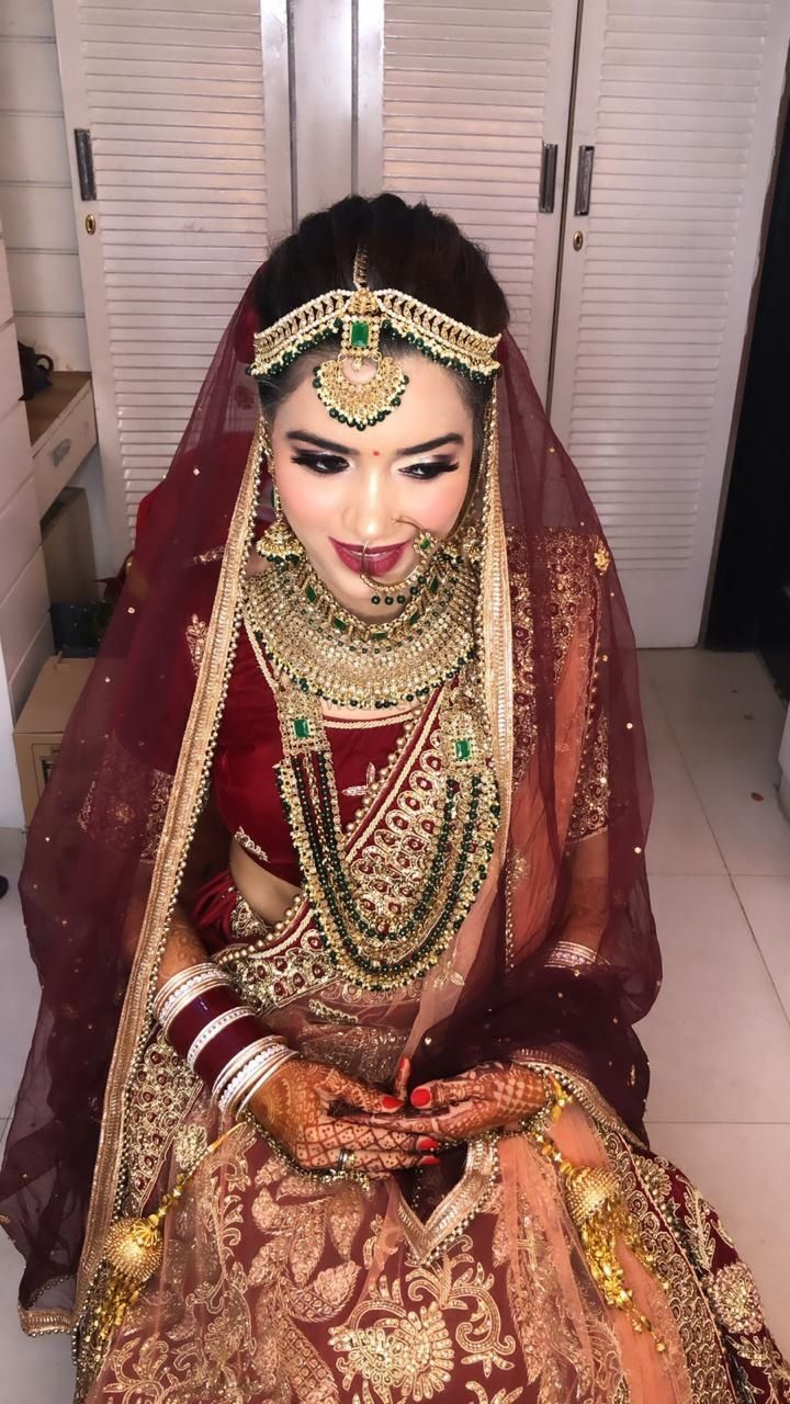 Photo From Beautiful Bride Rishu ❤️ - By Aarti Makker