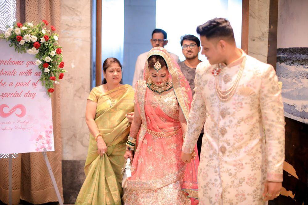 Photo From Priyanka's wedding - By Ankita Manwani Makeup and Hair