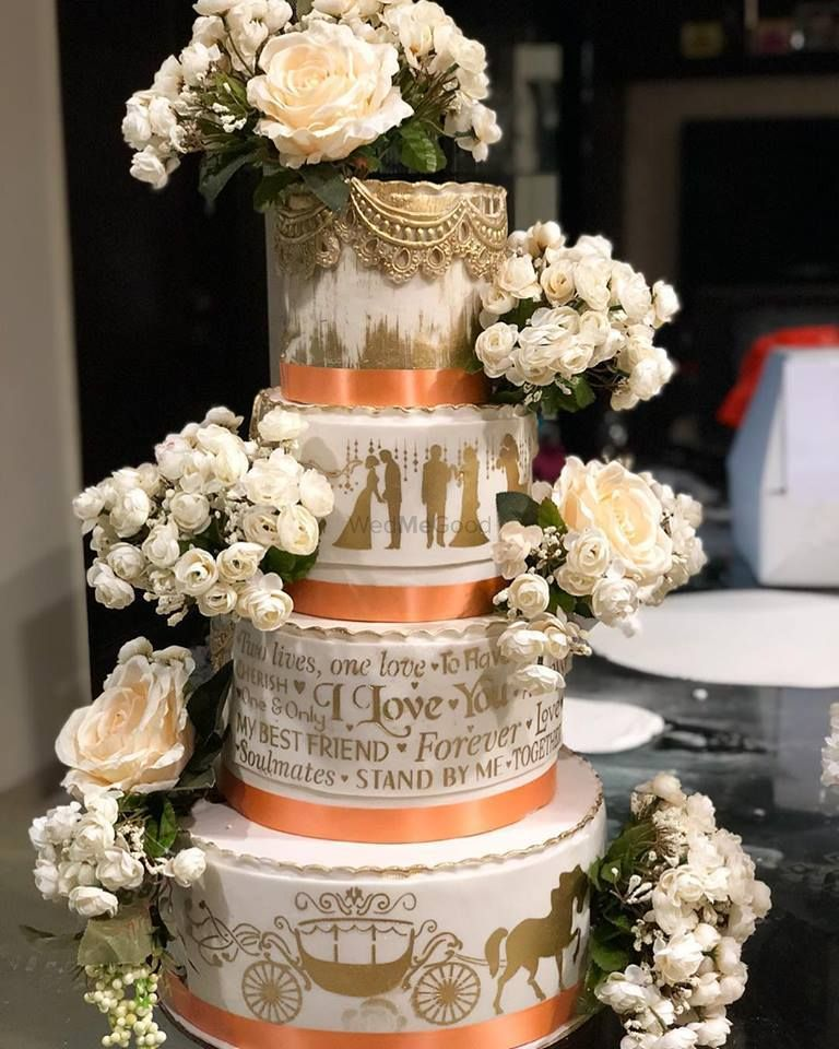 Photo From Wedding Cakes - By The Cake Design Company