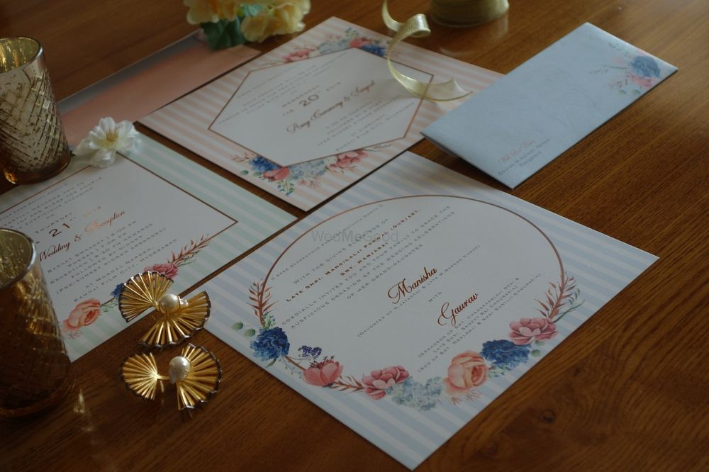 Photo From Floral Invitations - By Kiana - Bespoke Invitations and Stationery