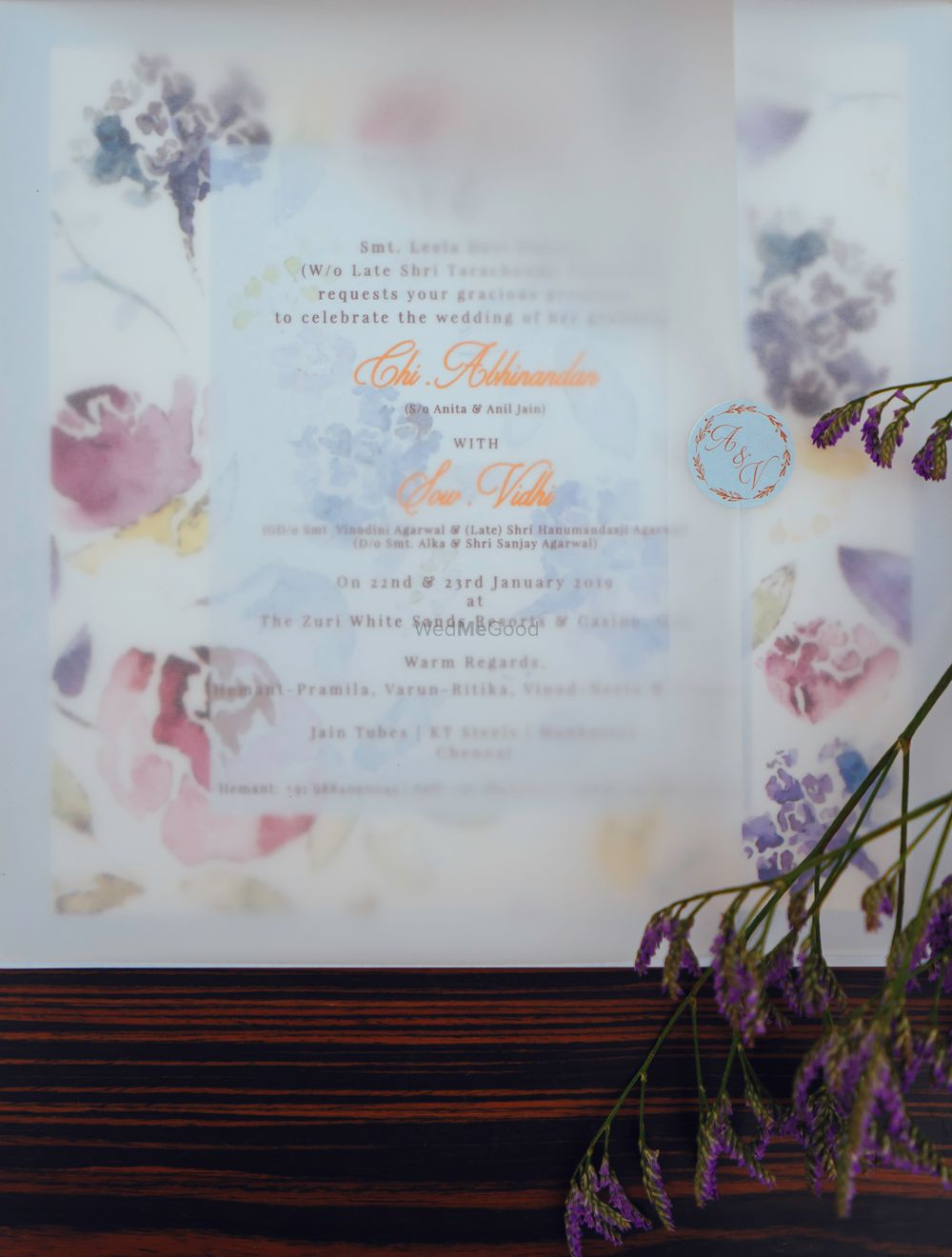 Photo From Floral Invitations - By Kiana - Bespoke Invitations and Stationery