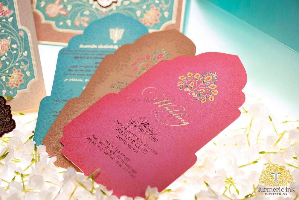 Photo From RUPALI & PRUDHVI - By Turmeric Ink Invitations and Stationery