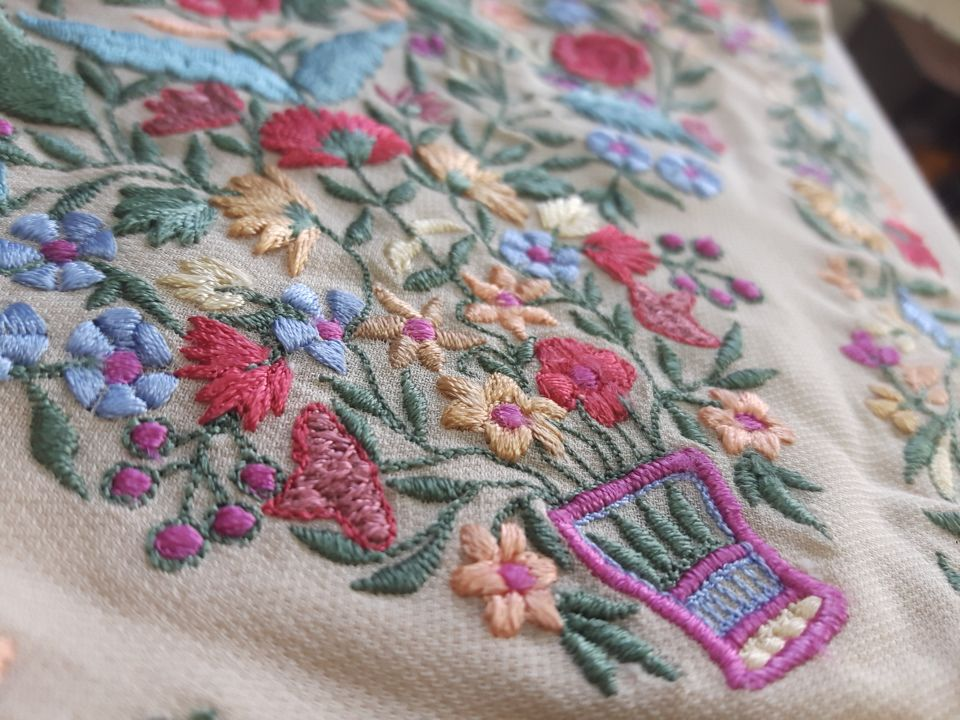 Photo From Romance of resham embroidery - By Dilnaz Karbhary