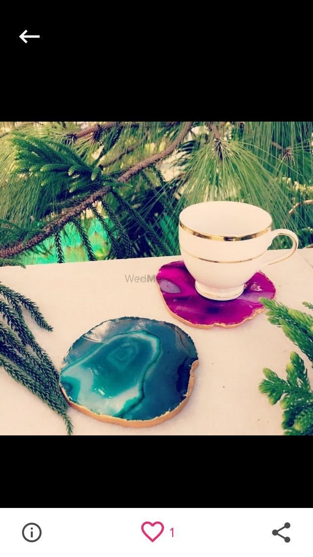 Photo From Brazillian Agate Coasters - By Verandah  The Art Hued Courtyard