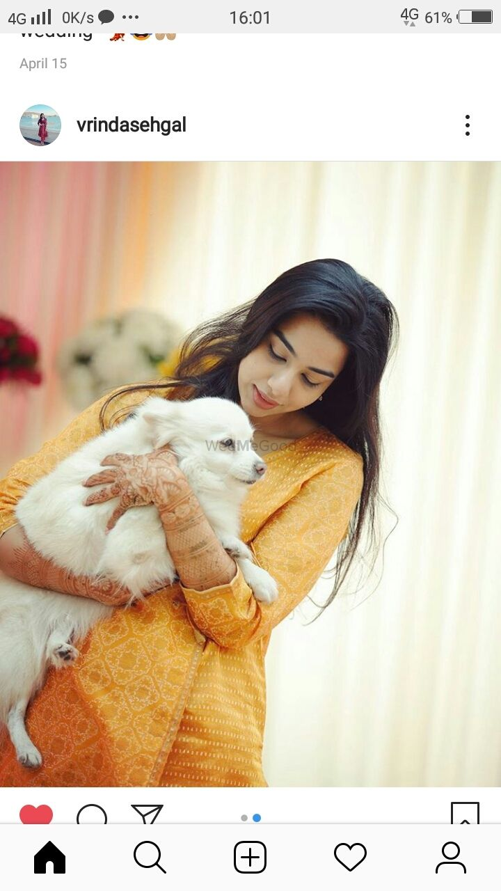 Photo From Vrinda bridal mehendi - By Shalini Mehendi Artist