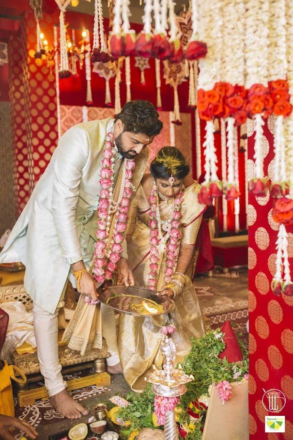 Photo From KOLAM THEME WEDDING - By The Tailored Tale