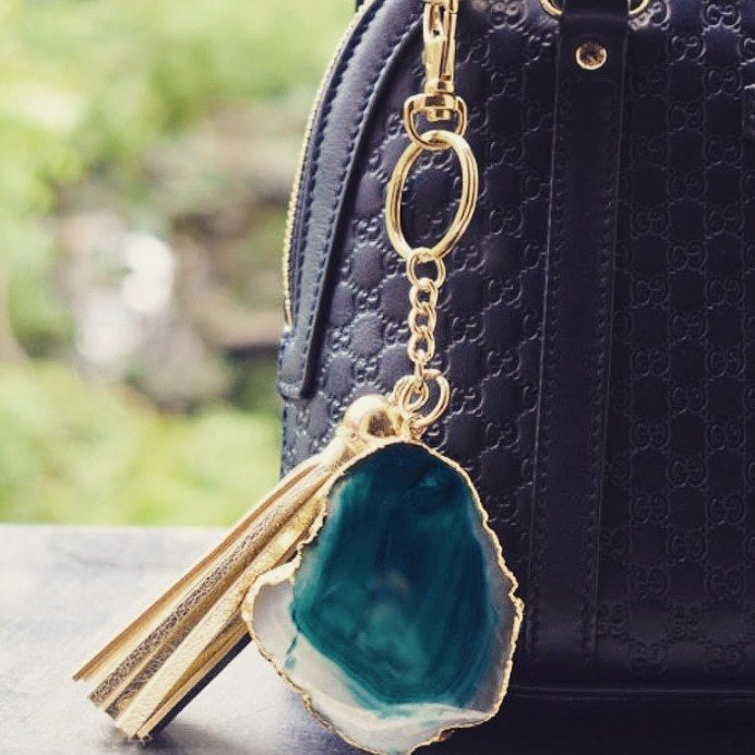 Photo From Agate Tassle keychain - By Verandah  The Art Hued Courtyard