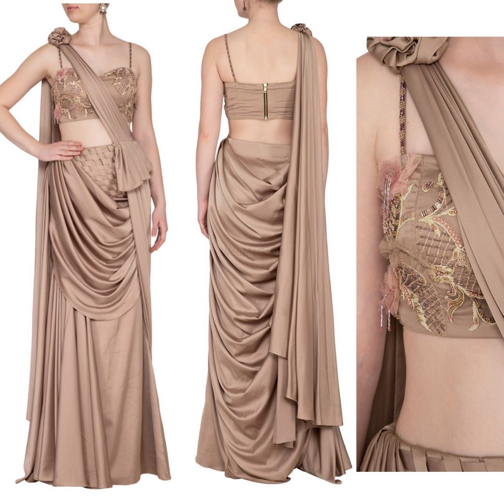 Photo From Draped Sarees  - By Vibgyor By Prerna