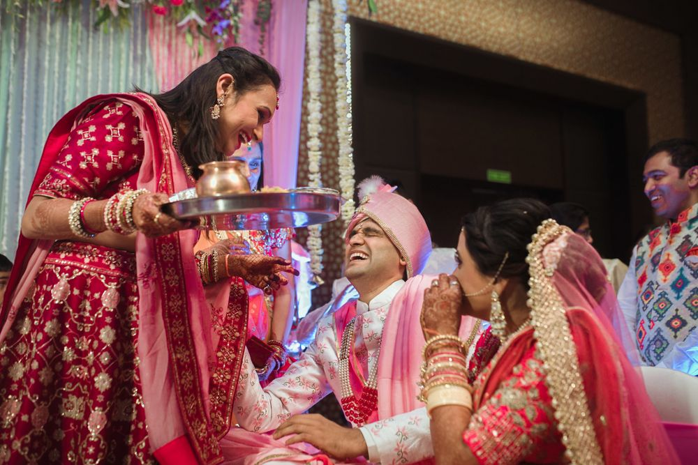 Photo From Destination wedding in Nashik  Aditi & Rohit.....Taj Gateway - By Nimitham Wedding Photography