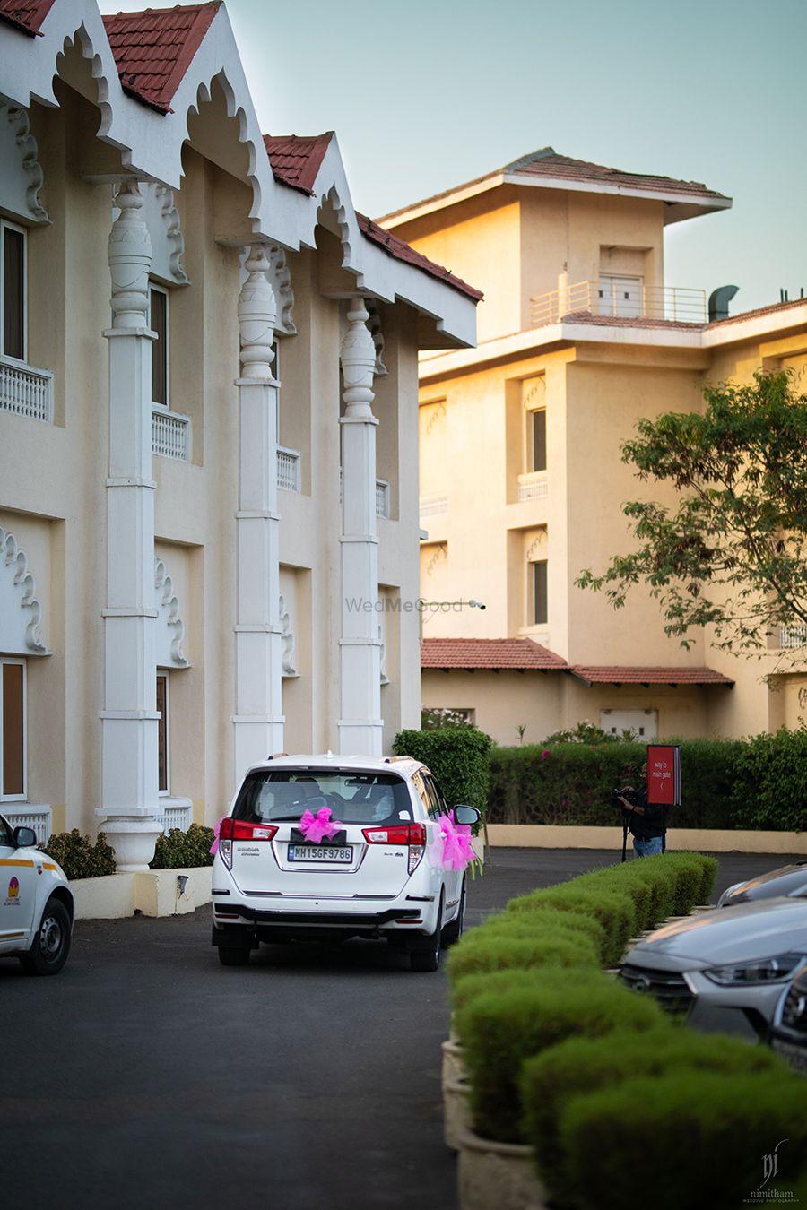 Photo From Destination wedding in Nashik  Aditi & Rohit.....Taj Gateway - By Nimitham Wedding Photography