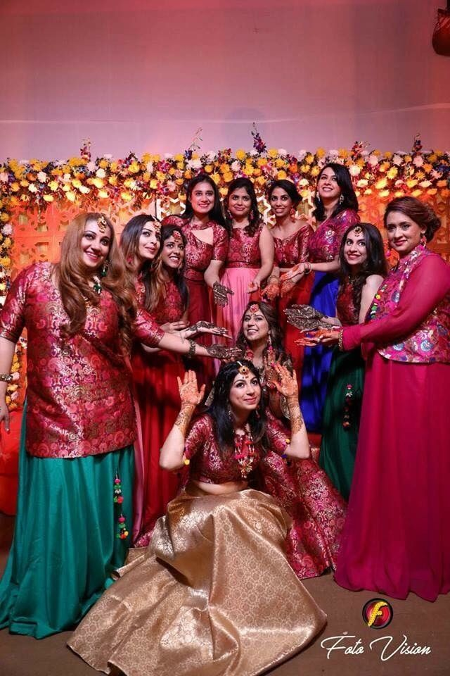 Photo From Bride and bride's maid  - By Vibgyor By Prerna