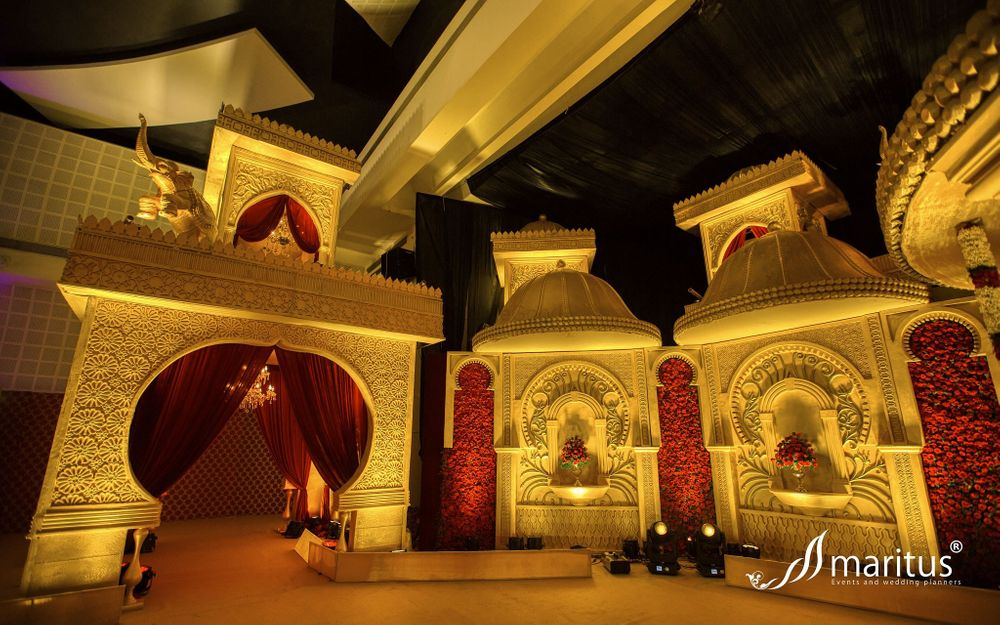 Photo From Suryavansha Themed Royal Wedding  - By Maritus Events and Wedding Planners