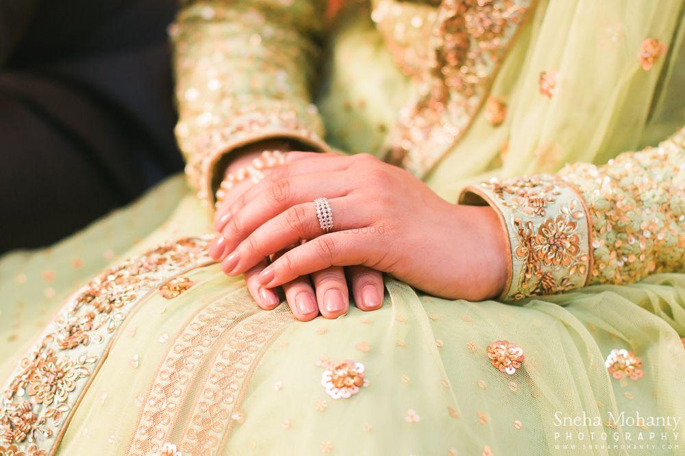 Photo of Gold Diamond Engagement Ring