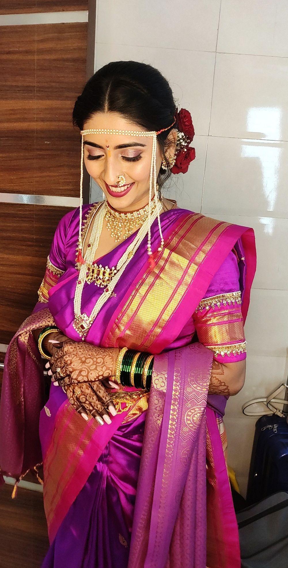 Photo From Maharashtrian Brides - By Makeup by Aboli Bavkar
