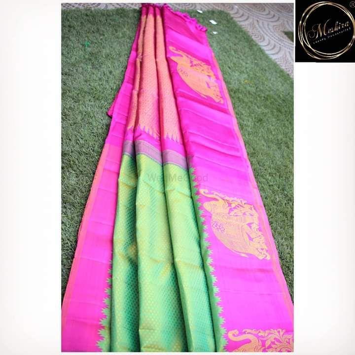 Photo From Bridal Kanchivaram sarees - By Meshira-Luxury Hancrafted
