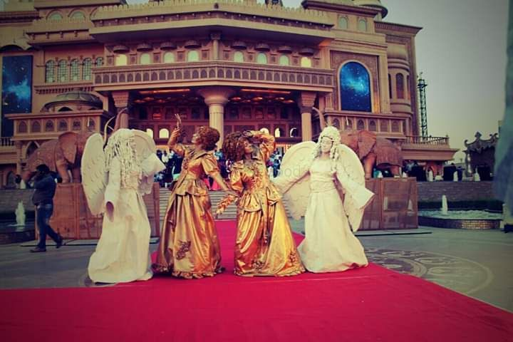 Photo From human statue's - By Aarambh Events & Wedding Planner