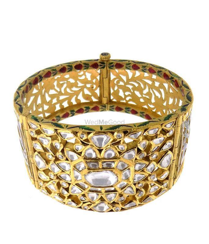 Photo of bridal bracelet polki