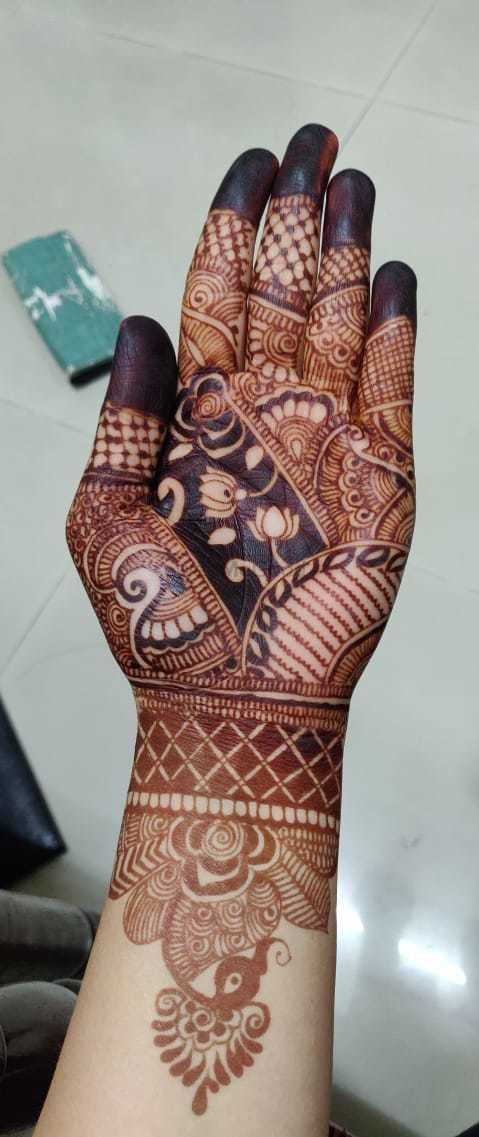 Photo From Indian and stylish design - By Hari Om Mehandi Artist