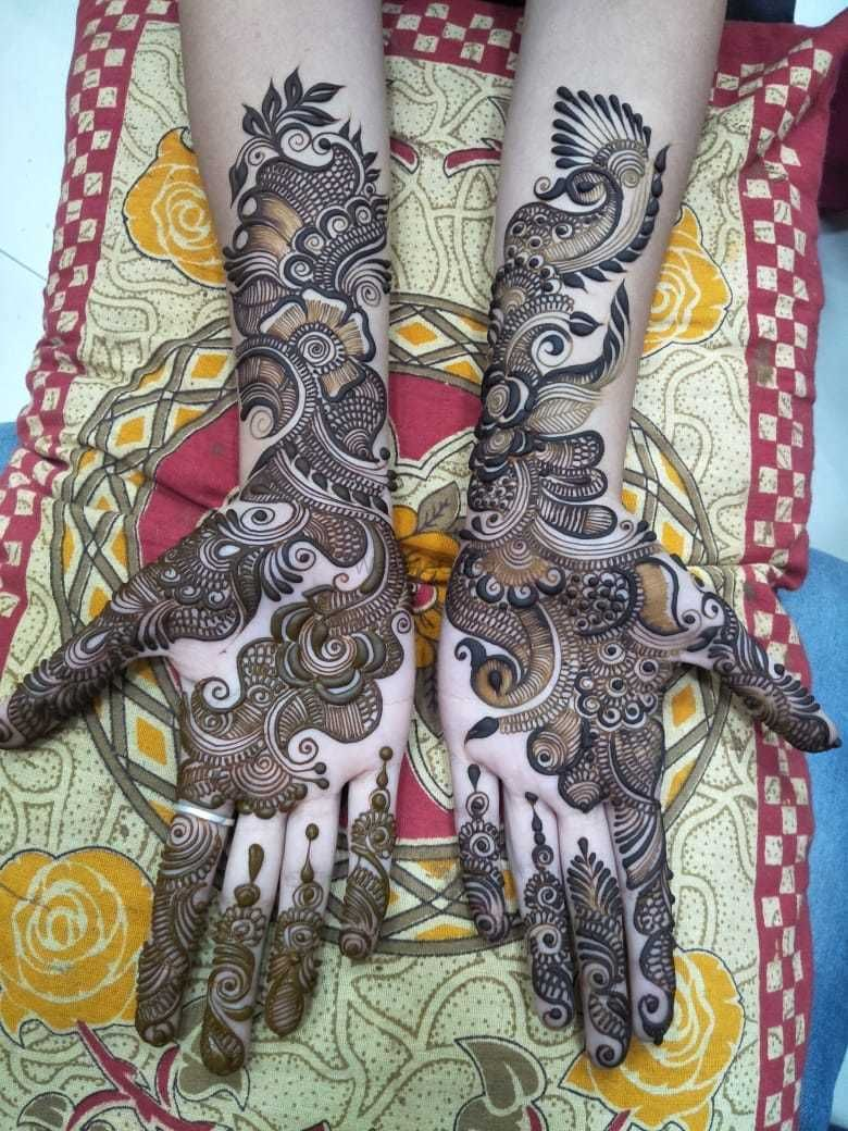 Photo From Designer mehandi - By Hari Om Mehandi Artist