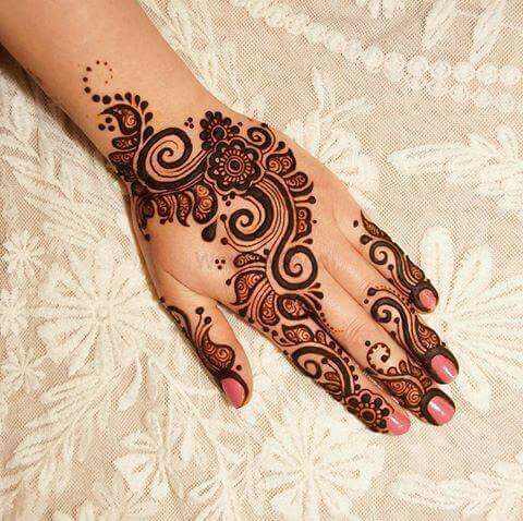 Photo From Arabic and Western Style Designs - By Hari Om Mehandi Artist