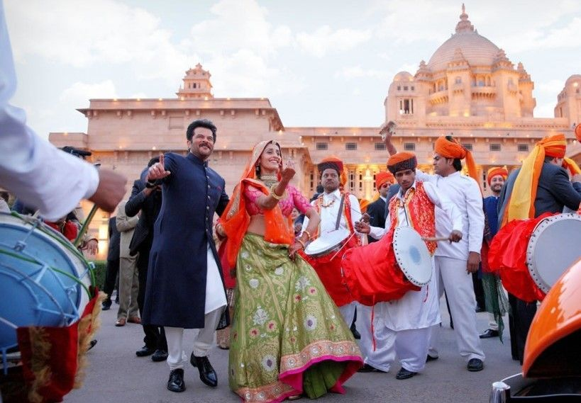 Photo of anil kapoor dancing at baraat