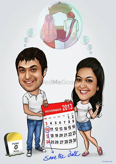 Photo From SAVE THE DATE CARD DESIGNS  - By Prashant Arts