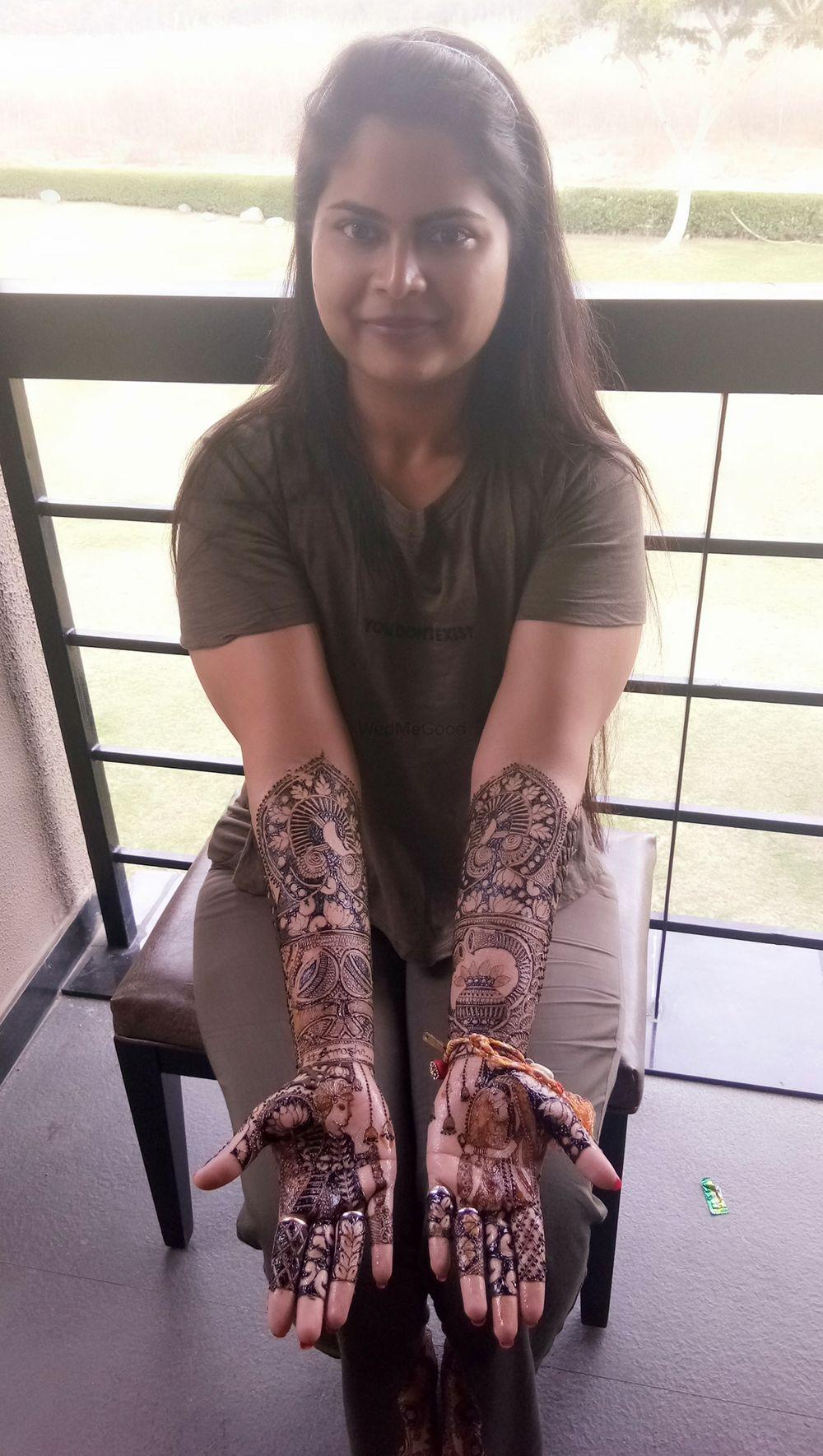 Photo From Isha bridal mehendi at Jim corbett - By Shalini Mehendi Artist