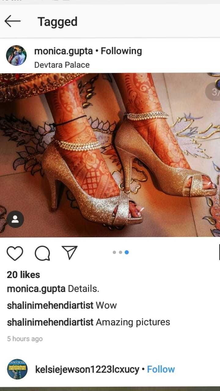 Photo From monica gupta bridal mehendi - By Shalini Mehendi Artist