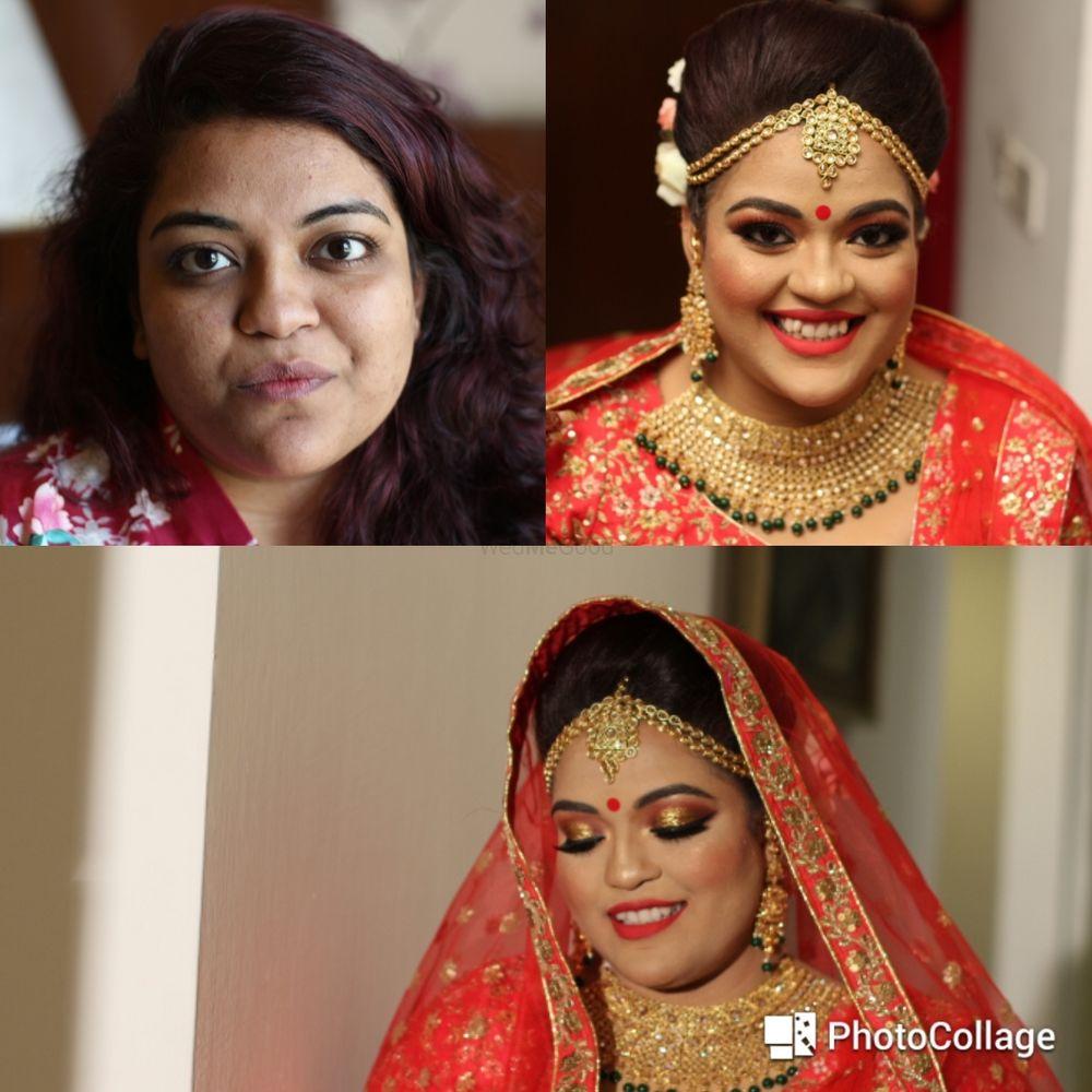 Photo From Ankita Chakraborty - By Vandana Piwhal Makeovers