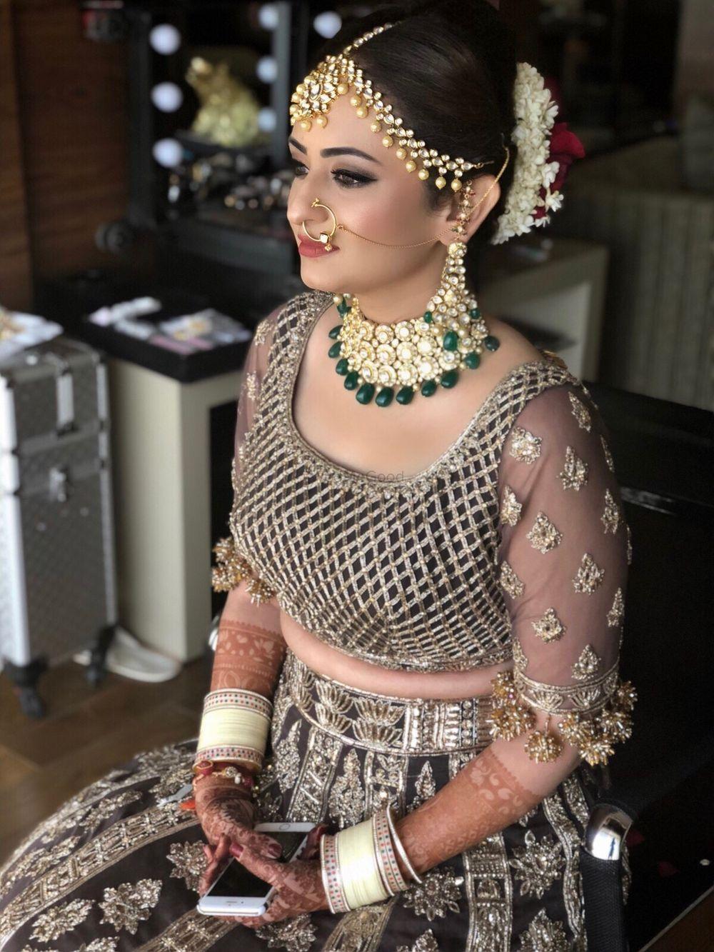 Photo From Tina: A Manish Malhotra bride - By Makeup By Nav Brar