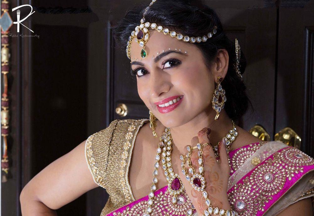 Photo of south indian bridal makeup look