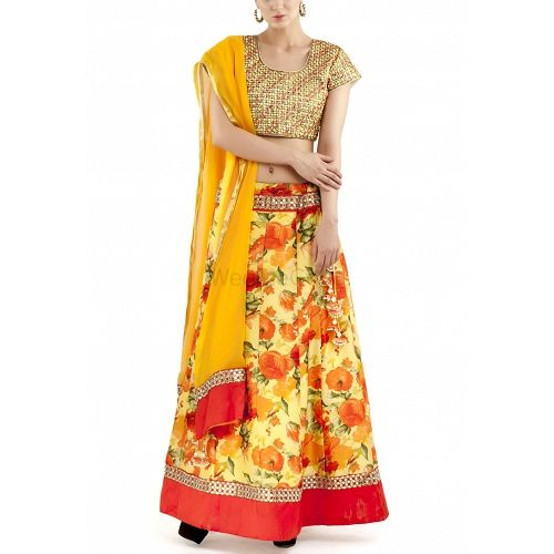Photo From Lehengas-Half Saree - By Divya Kanakia Clothing