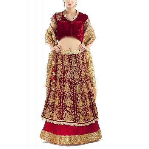Photo From Lehengas-Half Saree - By Divya Kanakia Clothing