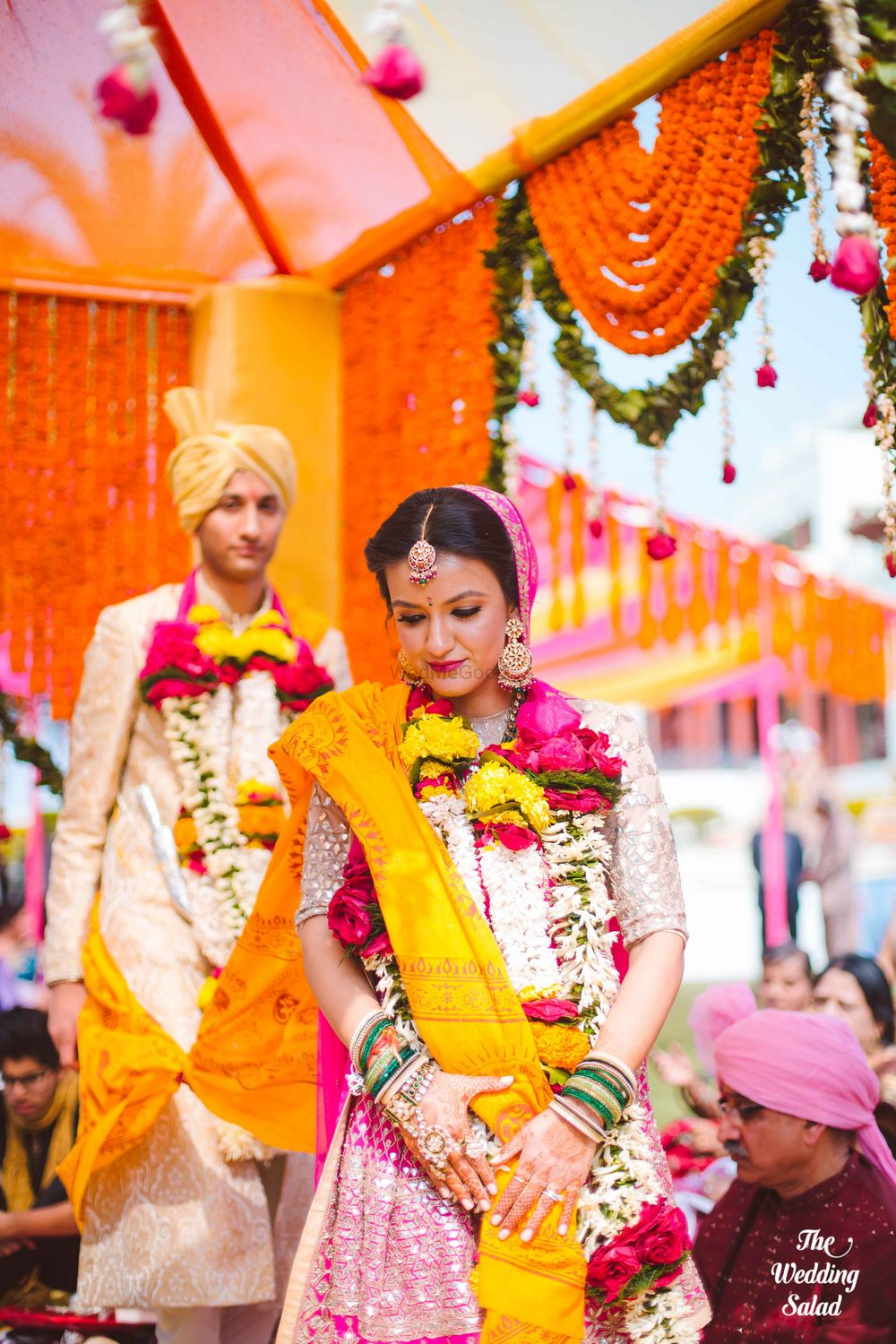 Photo From Deepali & Devesh - Destination Wedding in Noor us Sabah Palace, Bhopal - By The Wedding Salad