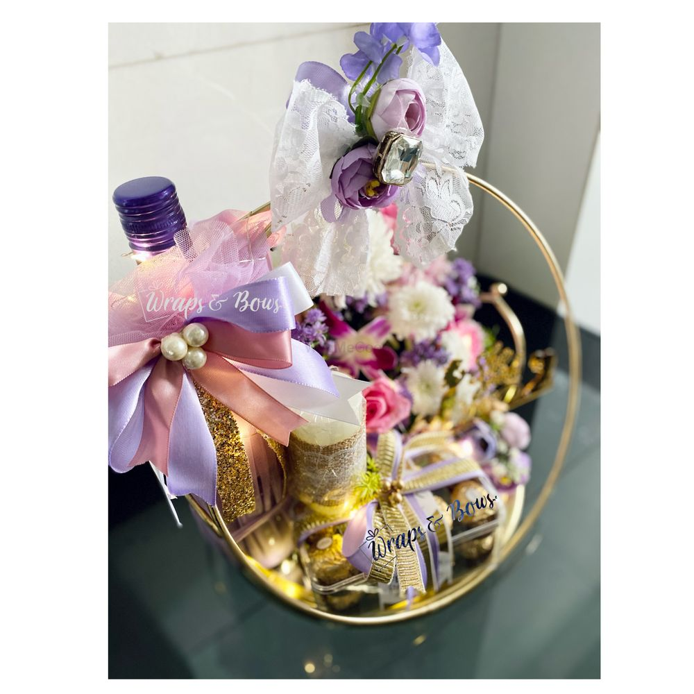 Photo From Hampers & Trousseau - By Wraps&Bows