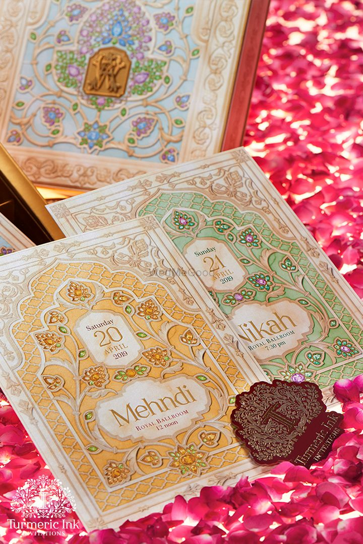 Photo From ALVIRA & WARIS - By Turmeric Ink Invitations and Stationery