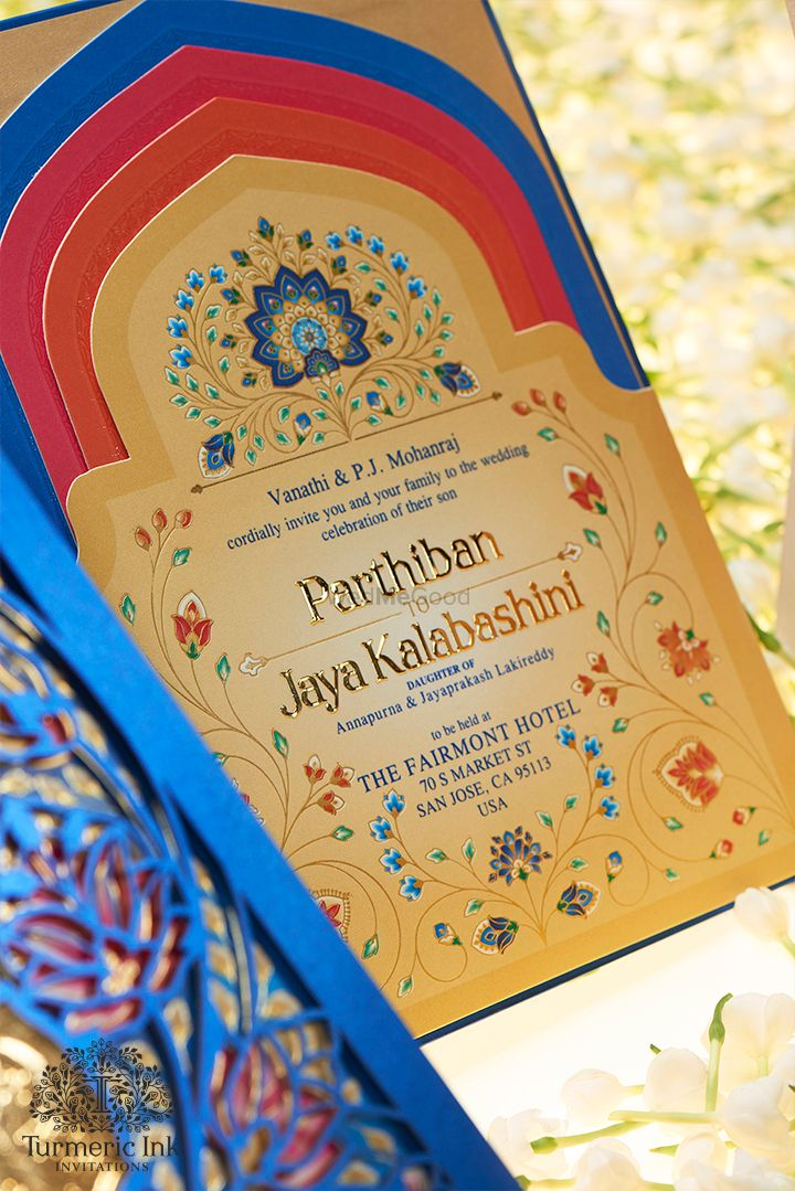 Photo From PARTH & JAYA - By Turmeric Ink Invitations and Stationery