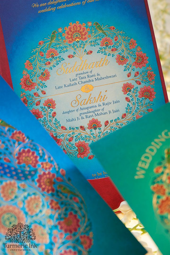 Photo From SIDDHARTH & SAKSHI - By Turmeric Ink Invitations and Stationery