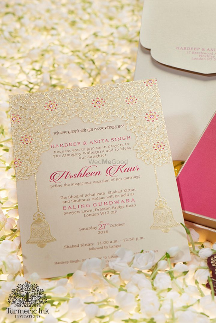 Photo From ARSHLEEN KAUR - By Turmeric Ink Invitations and Stationery