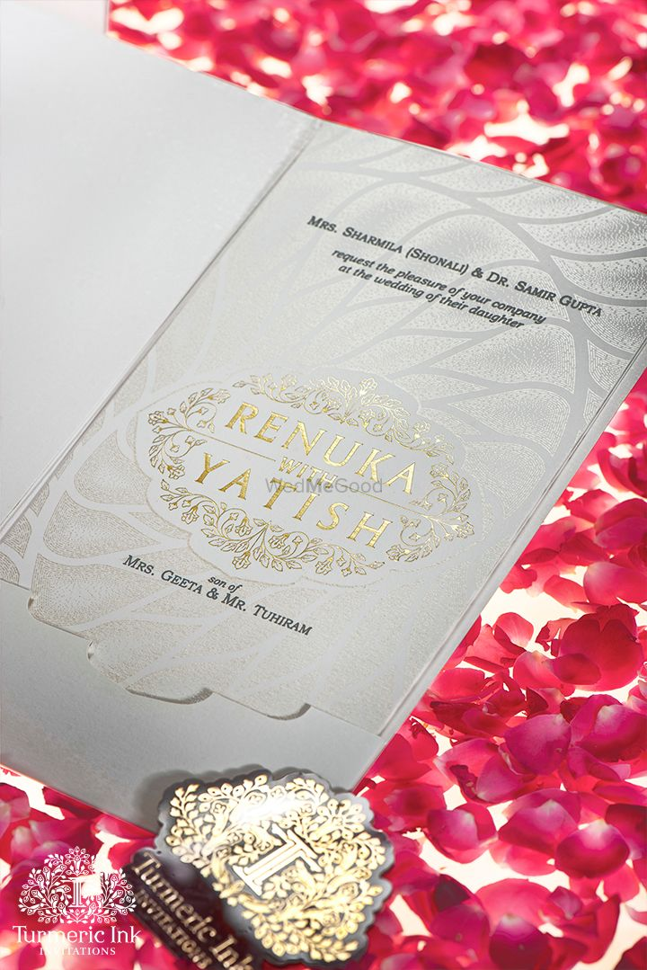 Photo From RENUKA & YATISH - By Turmeric Ink Invitations and Stationery