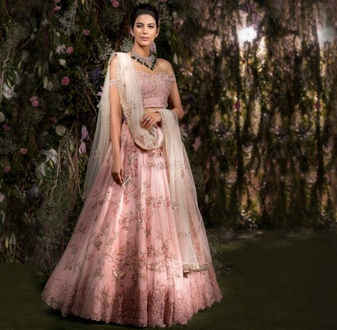 Photo of light lehenga ideas for the sister of the bride