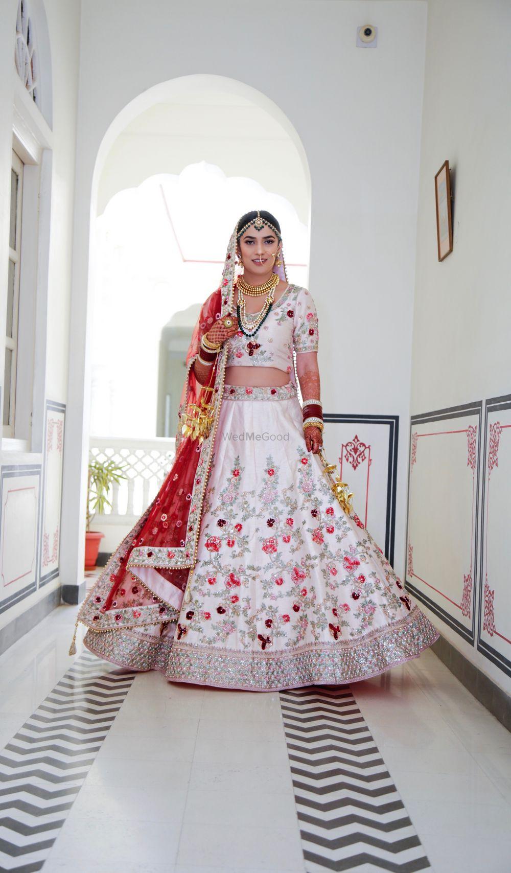 Photo From Beautiful Bride in Pastel Lehanga  - By Mohita Nangia Makeup Artist