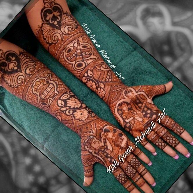 Photo From Exclusive Bridal Mehendi - By Kirti Gosar Mehendi Art