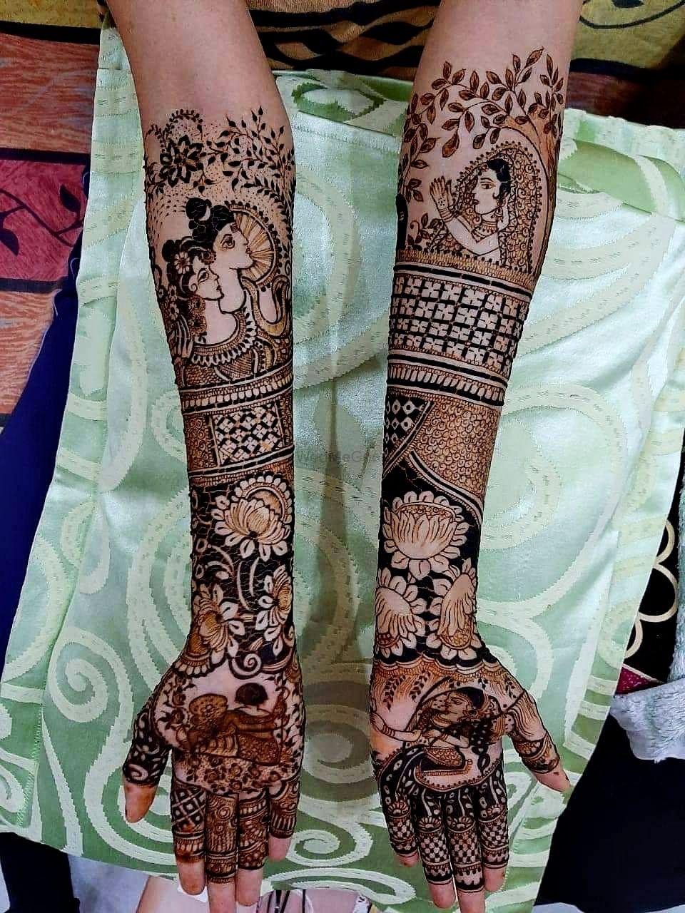 Photo From harshita - By Krishna Mehndi Art Hyderabad
