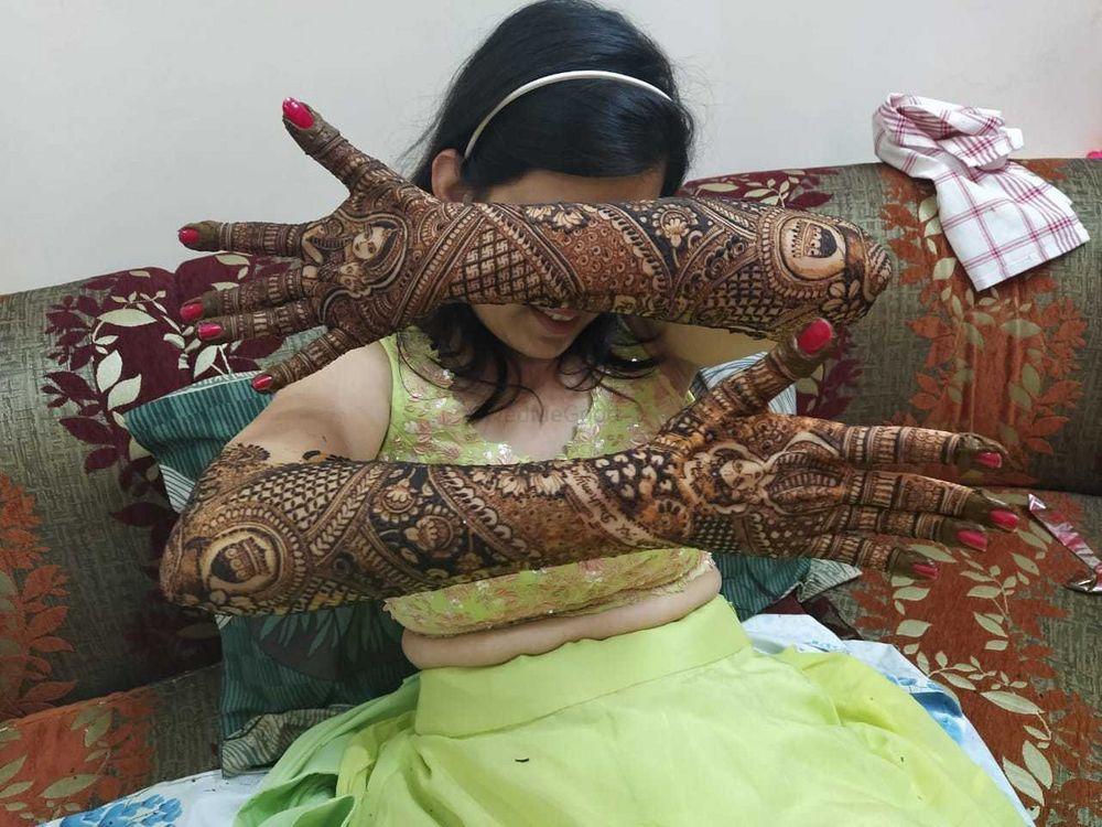 Photo From Bride Mansi Dagda - By Lata Mehandi